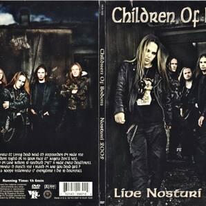 Children Of Bodom チルドレン・オブ・ボドム - Live In Nosturi 2005 限定PAL方式DVD