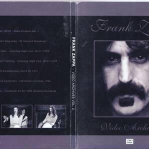 Frank Zappa フランク・ザッパ - Video Archives 2 限定NTSC方式DVD