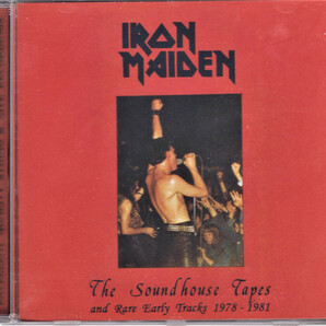 Iron Maiden アイアン・メイデン - The Soundhouse Tapes And Rare Early Tracks 1978-1981CD