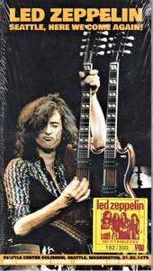 Led Zeppelin レッド・ツェッペリン - Seattle, Here We Come Again 300枚限定四枚組CD