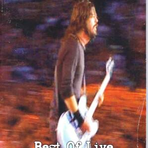 Foo Fighters Best Of Live 限定NTSC方式DVD