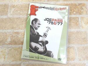 ノーマン・グランツ・ジャズ・イン・モントルー ジョー・パス 75&77 DVD ◯【522y】