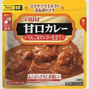 好評 新品 甘口カレ- いなば食品 H-ND 170g ×6個