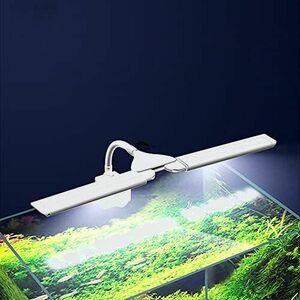 新品 未使用 水槽ライト MOMIKO N-3W LEDライト 水槽照明 アクアリウムライト 熱帯魚ライト 3つ点灯モ-ド 10段階明るさ調整 分離型