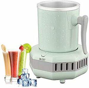 グリーン HANSHUMY ドリンクホルダー 2℃~16℃ 保冷 カップホルダー 家庭・オフィス カップクーラー 卓上用冷凍カ