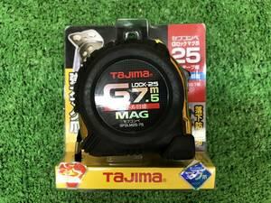 014〇未使用品〇タジマ TAJIMA スケール セフコンベ Gロック マグ爪25 7.5m SFGLM25-75BL