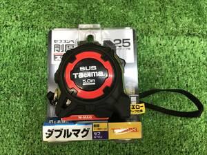 014〇未使用品〇タジマ TAJIMA スケール 剛厚セフGステンロック ダブルマグ25 GASFGSLWM25-50 5.0m