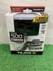 015●未使用品・即決価格●TAJIMA タジマ LEDヘッドライト LE-F501D
