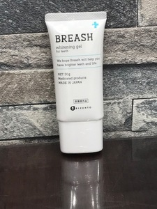 BREASH ブレッシュ ホワイトニングジェル 薬用歯みがき 30g 未開封①