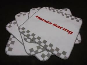 「④ー月」 送料210円 5枚セット ホンダレーシング HONDA RACING ハンカチ タオル 新品