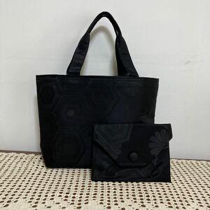手作り☆喪服帯リメイク、トートバックと数寄屋袋