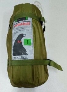 モンベル ムーンライトテント1型 (旧型) mont-bell Ⅰ