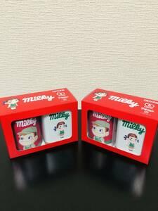 【即決・送料無料】限定品 2セット(計4缶) Peko Milky ミルキー缶セット 2缶入りx2箱(新品未開封品)