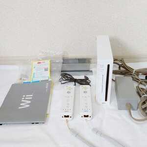 匿名送料込【中古】任天堂 Nintendo Wii本体 一式セット 起動確認済