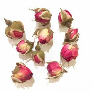ハンドメイド素材パーツ薔薇ドライフラワー蕾つぼみ薔薇の花びらバラばら