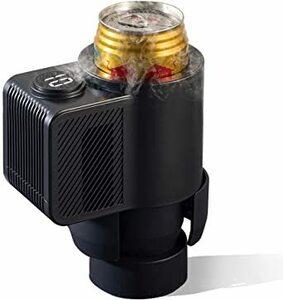 ブラック MACOLAUDER ドリンクホルダー 0℃~25℃ 冷却・保冷 冷蔵 缶 カップ ホルダー ドリンク クーラー 飲料