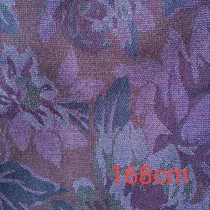 生地 ジャガード織り風 花柄