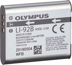 【期間限定】 OLYMPUS デジタルカメラ用 リチウムイオン充電池 LI-92B6I53XNO6