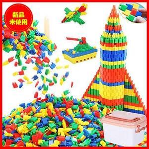 【購入歓迎】 はめ込み 女の子 男の子 組み立て セット 知育玩具 DIY 積み木 子供 立体パズル ブロック おもちゃ 約1000ピース Tebrcon