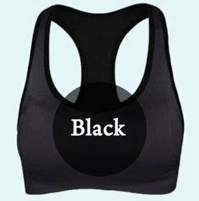 【スポーツブラ ブラック XLサイズ】スポブラ 揺れない ノンワイヤー ブラジャー ブラトップ タンクトップ スポーツ 黒 ヨガ フィットネス