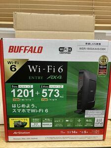 BUFFALO Wi-Fiルーター AirStation WiFi6 WSR−1800AX4S/DBK