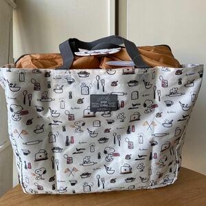 スヌーピー レジカゴバッグ エコバッグ おいしい時間 タグ付き トートバッグ