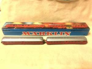 送料無料 走行良好 MARKLIN メルクリン Spur HO 3076 直流2線式 Triebwagenzug  貴重なビンテージ品 2両固定編成 1モーター