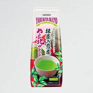 新品 未使用 やぶ北ブレンド抹茶入煎茶 ハラダ製茶 6-JQ 200g