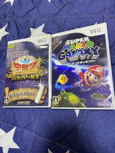 Wiiソフト  スーパーマリオギャラクシーと宝島Z