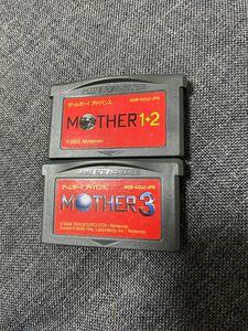 MOTHER1+2 マザー3 ゲームボーイアドバンス ソフト