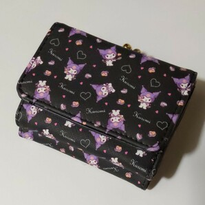 Sanrio サンリオ クロミ 三つ折り財布 がま口 サイフ クロミちゃん 財布