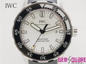 【値下げ交渉可】IWC アクアタイマー IW356811 男 腕時計 2000M防水 白文字盤 中古 【質屋出店】