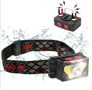 超高輝度ledヘッドライト小型軽量充電式多機能 電量顕示 USB レッドレンザー
