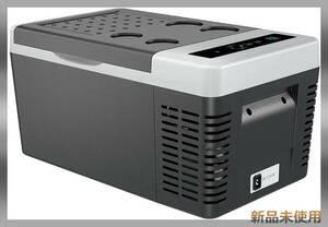車載用冷蔵庫 冷温庫 18L -22℃~10℃冷凍 車載冷蔵冷凍庫 ポータブル冷蔵庫 AC/DC 家庭用・車載用冷蔵庫 黒と白