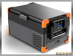 車載用冷蔵庫 -20℃~10℃ 急速冷凍 大容量 静音 12V/24V車に対応 冷凍庫 AC/DC電源対応