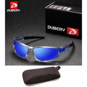 DUBERY サングラス 偏光グラス UV400 軽量 車 釣り アウトドア 偏光サングラス