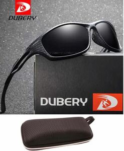 DUBERY サングラス 偏光グラス UV400 軽量 車 釣り アウトドア 紫外線カット 超軽量