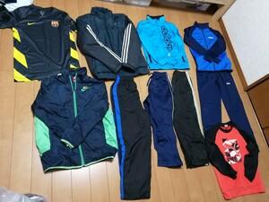 ジャージ adidas PUMA NIKE ナイキ 福袋 スポーツウエア Number 上下 140 150 130 バルセロナ