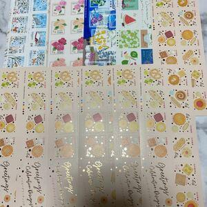 切手 ハッピーグリーティング等 84円×10枚 11シート 9240円分 まとめ売り
