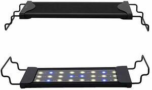 青白 30cm Varmhus 水槽 ライト 30cm ~ 45cm の水槽に対応 青白2色LED 熱帯魚 観賞魚飼育 水草育