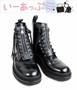 ルイヴィトン ブーツ ブラック アンクル 黒 サイズ8 p6