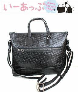 バリー ビジネスバッグ ブリーフケース 書類かばん トートバッグ 極美品 黒 ブラック BALLY p5