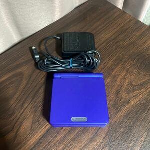 美品 ゲームボーイアドバンスSP 本体 充電器 セット