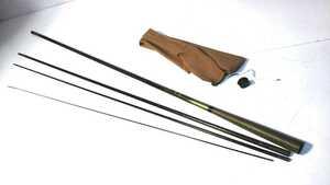 S※ DAIWA ダイワ 波紋 へら竿 硬調 十一尺 カーボンロッド 4本振出竿
