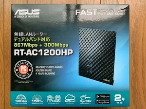【外箱あり】ASUS 867+300Mbps デュアルバンド ギガビット Wi-Fi 無線ルーター RT-AC1200HP