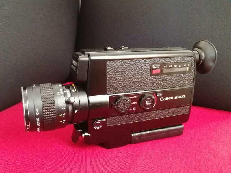 Canon キヤノン 8mmシネカメラ 514XL 希少 アンティーク 美品