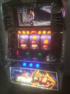 Hokuto's fist Real machine slot Savior 5 No. 5 beautiful goods smell pear! Coinless machine with a free volume