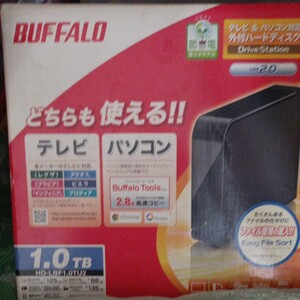 BUFFALD 外付けハードディスクドライブHD-LBF1.0TU2シリーズ