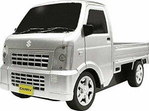 【新品最安値】MP新色! スズキ6K-C7キャリー SUZUKI CARRY 軽トラ 正規認証ラジコンカー 1/20 シルバー