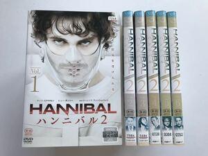 HANNIBAL ハンニバル シーズン2 全6巻 DVD / レンタル落ち 日本語吹替あり